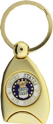 US Air Force Service Key Rings